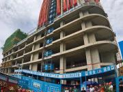 融利广场一期北楼封顶,济西南商圈蝶变在即!