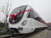高清大图!地铁R1线首列车到达济南!高颜值满满泉城范儿!