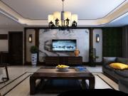 济南名悦山庄小区210平方新中式风格丨万泰装饰总部