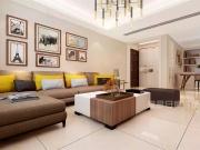 寒冬推荐:140㎡现代简约三居室暖色调温馨之家