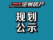 沧州西城纯新盘项目规划及建筑方案公示!共15栋住宅