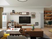 120平北欧三居室,家就是要让人感到温暖!