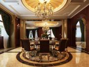 御涛园别墅装修美式新古典风格设计