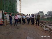 领导关怀!县委领导再次莅临葫芦溪新城指导工作