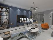 【致界装饰】金色城邦70㎡2室1厅1卫现代风格装修设计效果图