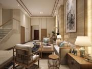 350平依水和墅混搭风格装修效果图,古典,清幽,雅致