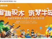 合肥空港首届大型积木王国主题乐园来了!带你一起嗨玩2019!