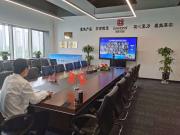 领航控股集团参加2020年陕西省 重点招商引资项目云签约仪式