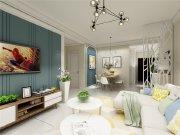 国宾中央区装修, 全包7万,米色与绿色的搭配十分温馨!