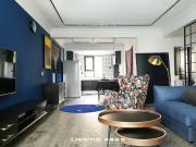 领越装饰·江凡空间设计——正科蓝山小美轻奢风实景效果展示