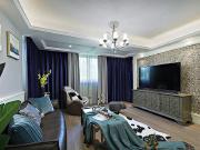 西安装修 100平美式休闲3居   和谐舒适生活
