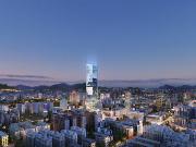 山西太原信达国际金融中心使用兴发铝材