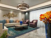 226平米铂悦山现代风格装修效果图,一个舒适奢华的环境