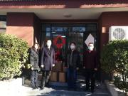 源盛城发集团向保定市卫健委及竞秀区捐献防疫物资