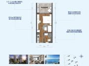 荣盛山湖海最新户型图 主推建面约45-91平米户型