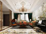 330平新古典风格别墅装修,兼容华贵典雅与时尚现代
