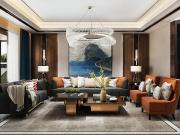 值得点赞的港式轻奢风家居设计-领越·江凡空间设计