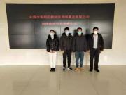 爱心企业东营碧桂园时代之光项目向董集镇政府捐赠疫情防控物资
