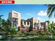 石梅半岛项目叠拼别墅:东南亚异域风情园林 200万/套起