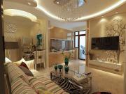 华润装饰-观复国际实测使用72㎡2室2厅1厨1卫地中海风格