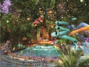 主城区面积最大水上乐园明年投入使用 周边7盘看涨人气直升