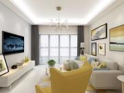 西安装修设计三迪枫丹小区90平简约风格装修,温馨舒适最好