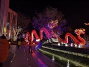 2018六合首届灯光艺术节就在保利荣盛合悦,还不来打卡吗?