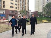 钟本强会长走访调研副会长单位郴建集团翰林学府康养社区