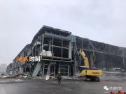 国展中心开始拆除!商业商务地块地勘!华润中心离我们不远了!