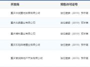 6月13日主城5项目获预售证 中央云璟项目推新