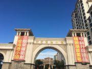 衍宏海港小镇项目园林绿化水系及生活配套实景拍摄图