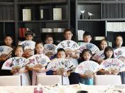 海棠艺术公开课 折扇彩绘