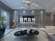 【致界装饰】松浦观江国际79.46㎡ 美式轻奢风格装修图