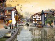 丽江天堂是一座旅游度假综合体