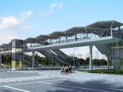 松江有轨电车将设四座天桥 零距离换乘地铁公交