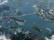 南沙狮子洋大桥筹建!南沙大桥与虎门大桥之间,黄阁业主笑出声!