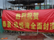 举城同贺,泰盈·玖悦湾项目全面封顶!