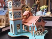 府中拾光 | 木质房屋拼装亲子手作,在珑府畅享周末美好时光!