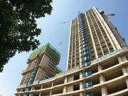 融利广场北楼主体结构工程验收通过,9.8商铺加推