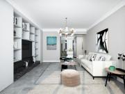 120平唐望府现代简约风格两室装修,创造一个温馨的家庭环境