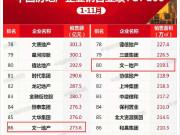 文一地產榮登2019年1-11月安徽省典型房企銷售業績第二
