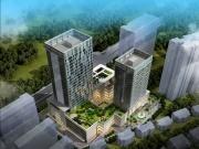 逸龙广场项目公寓,商业和写字楼三大板块板看房团实景拍摄图赏析