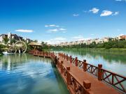 富力盈溪谷项目园林水系及娱乐设施配套精美实景图