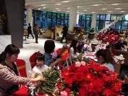 颐安都会中央三期周末成功举办插花DIY活动