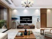 海天装饰200㎡复式楼新中式装修,大气儒雅