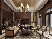 300㎡美式古典复式楼 见证美式与古典的浪漫邂逅