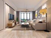 简约风三居装修案例,129平的房子装修多钱?—华远海蓝城装修