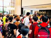 香山新时代千人艺术徒步  掀起绿色新潮流!