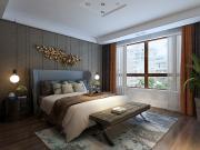 华润装饰-华远水木清华88㎡2室1厅1卫 港式风格