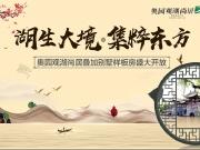 """""""湖生大境 集萃东方""""奥园观湖尚居叠加别墅样板房璀璨开放"""